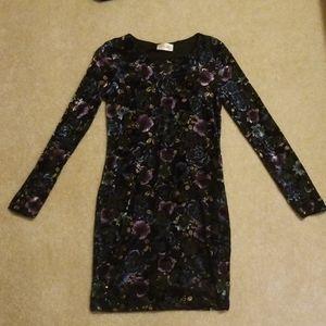 Velvet Fitted Dress